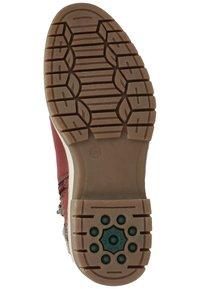Bama - Ankle boots - bordeauxrot 51 - 6