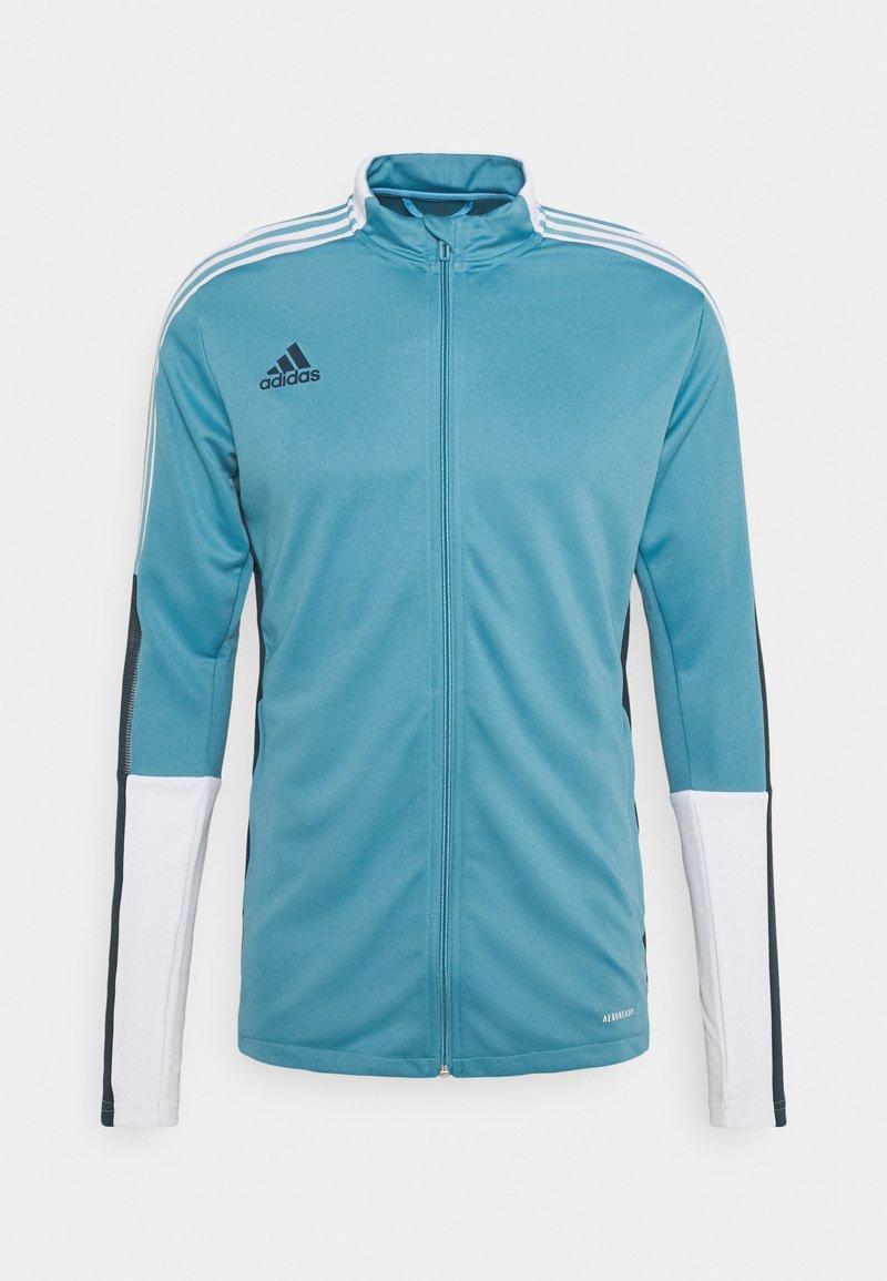 adidas Performance - TIRO - Træningsjakker - blue