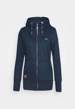 NESKA ZIP - Zip-up hoodie - denim blue