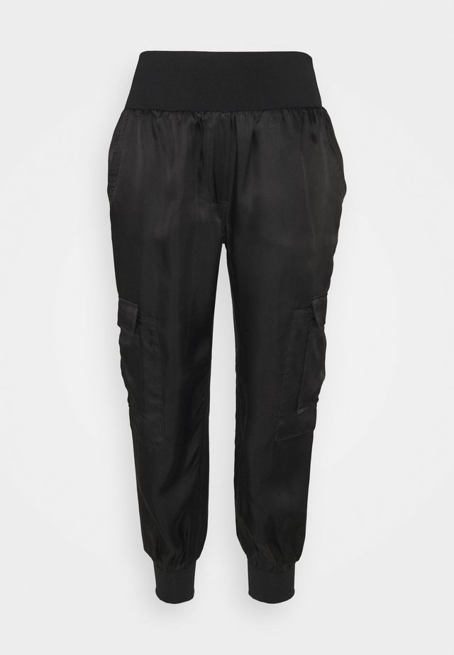 GILES PANTS - Bukser - black