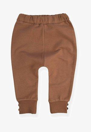 Tracksuit bottoms - dark brown