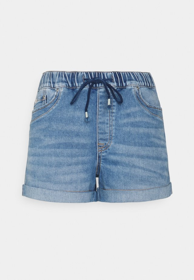 Shorts di jeans - blue light wash