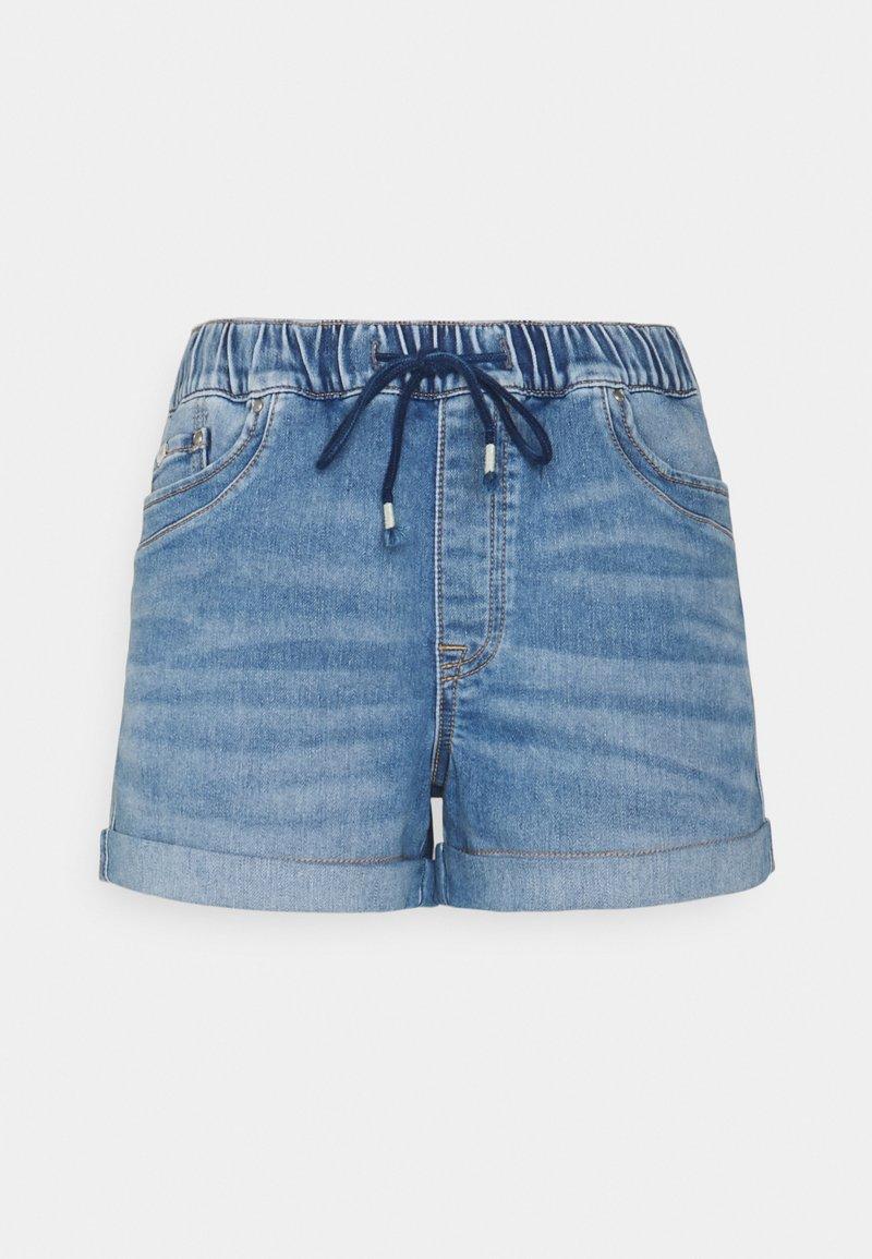 edc by Esprit - Denim shorts - blue light wash