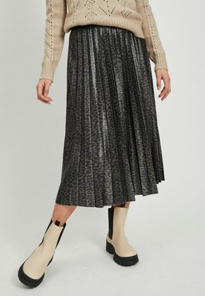 Pleated skirt - forest night