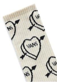 Vans - UA LOVE HATE CREW (6.5-9, 1PK) - Socks - seedpearl - 1