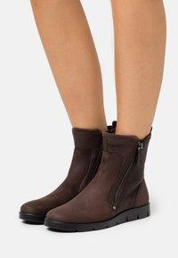 ECCO - BELLA - Classic ankle boots - dark brwon - 0