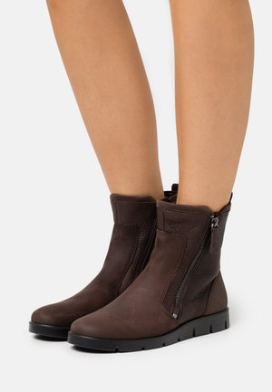 BELLA - Classic ankle boots - dark brwon