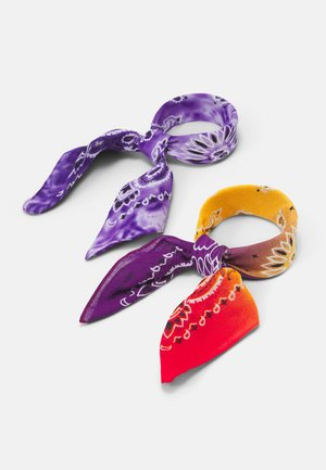 2 PACK BANDANA UNISEX - Hair Styling Accessory - multi