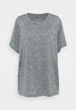 TECH TWIST - T-shirt sportiva - pitch gray