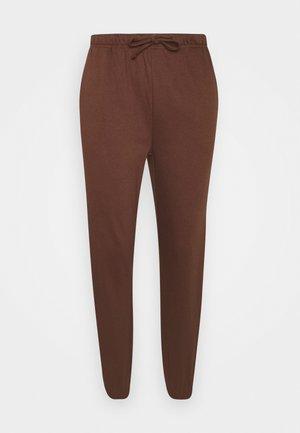 RUST - Spodnie treningowe - chocolate fondant