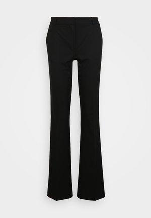 SLFRIA PANT TALL FLARED - Bukse - black