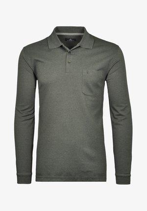 Polo shirt - grau mel/grau