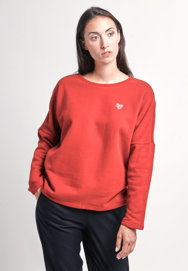 BRUTE - Sweater - red
