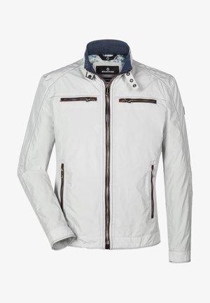 Summer jacket - wollweiß