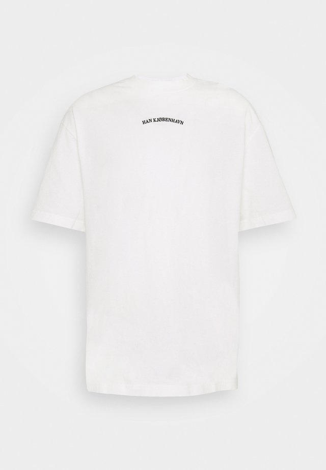 BOXY TEE - T-shirt imprimé - off white
