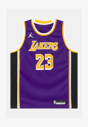 NBA LA LAKERS LEBRON JAMES BOYS SWINGMAN UNISEX - Klubové oblečení - court purple