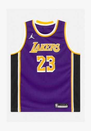NBA LA LAKERS LEBRON JAMES BOYS SWINGMAN UNISEX - Club wear - court purple