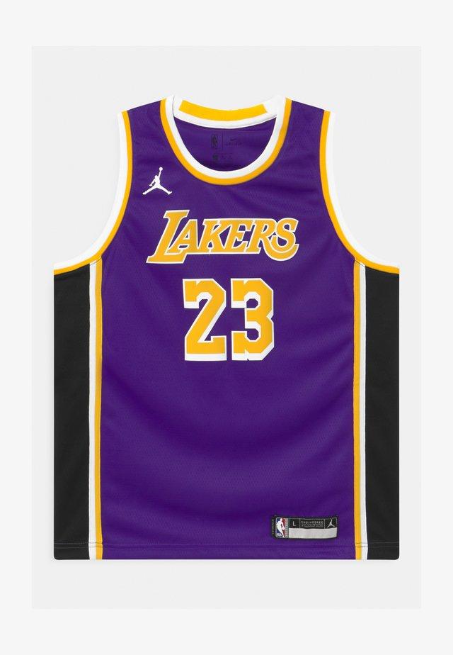 NBA LA LAKERS LEBRON JAMES BOYS SWINGMAN UNISEX - Pelipaita - court purple