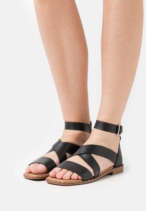 TABBIE - Sandals - black