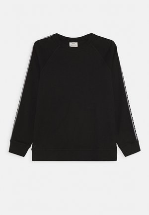 STELTINO TAPE - Long sleeved top - black