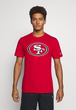 NFL SAN FRANCISCO 49ERS LOGO ESSENTIAL - Club wear - gym red