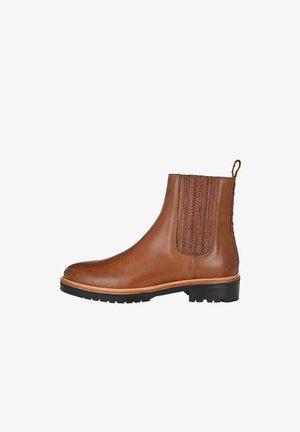 GRETA - Ankle boots - cognac
