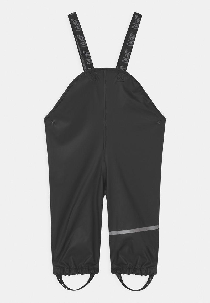 CeLaVi - RAINWEAR SOLID UNISEX - Kalhoty do deště - black
