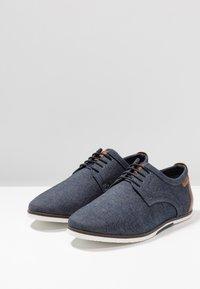 Pier One - Zapatos con cordones - denim - 2