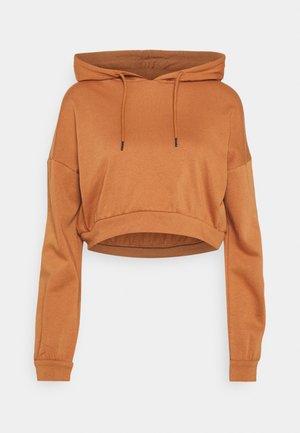 Hoodie - pecan brown