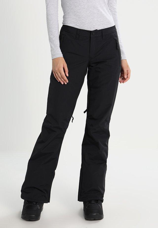 SOCIETY - Spodnie narciarskie - true black