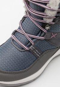 Jack Wolfskin - POLAR TEXAPORE HIGH UNISEX - Winter boots - pebble grey/offwhite - 5