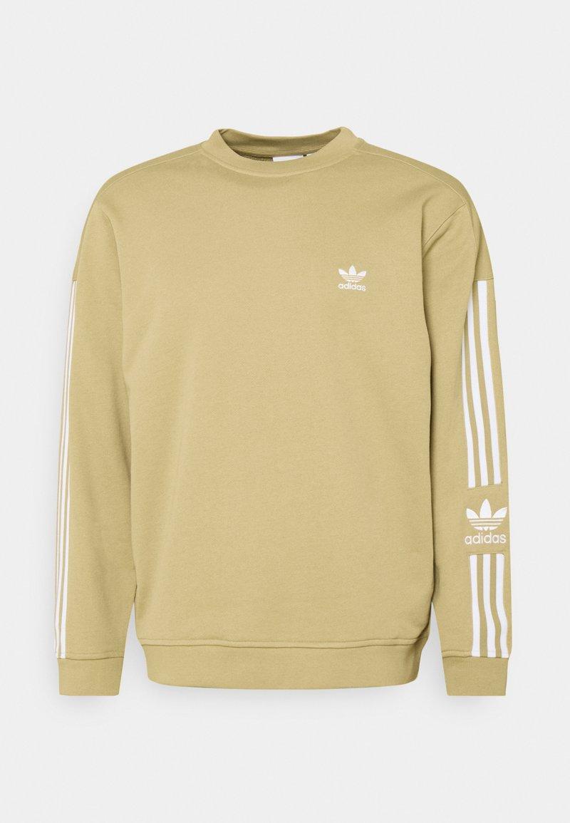 adidas Originals - LOCK UP CREW UNISEX - Collegepaita - beige tone