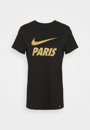 PARIS ST GERMAIN TEE GROUND - Club wear - black