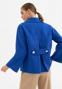 Luisa Spagnoli - Short coat - royal blu - 2