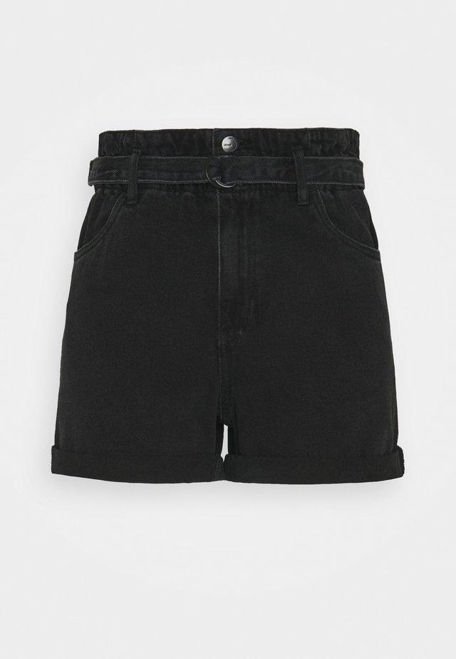 VMTAMARA  - Shorts vaqueros - black
