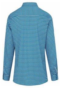 PETER HAHN - Button-down blouse - blau/ weiß - 2