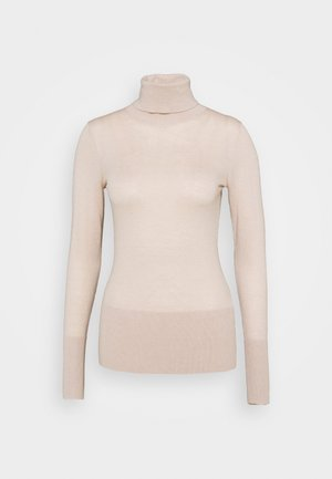 FAVORITE TURTLENECK SPECIAL - Svetr - almond