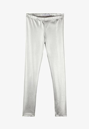 Leggings - Trousers - silver colour