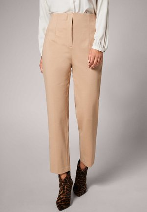 Trousers - bisquit