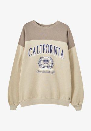 Sweatshirt - camel