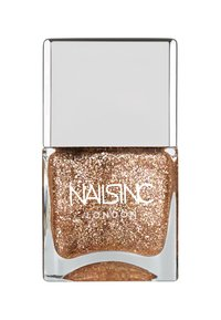 Nails Inc - CATCHIN' RAINBOWS POLISH 14ML - Nail polish - gold glitter - 1