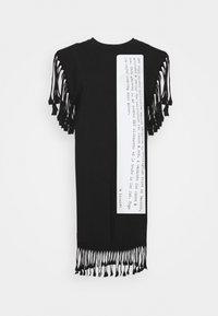 MM6 Maison Margiela - Jersey dress - black - 6