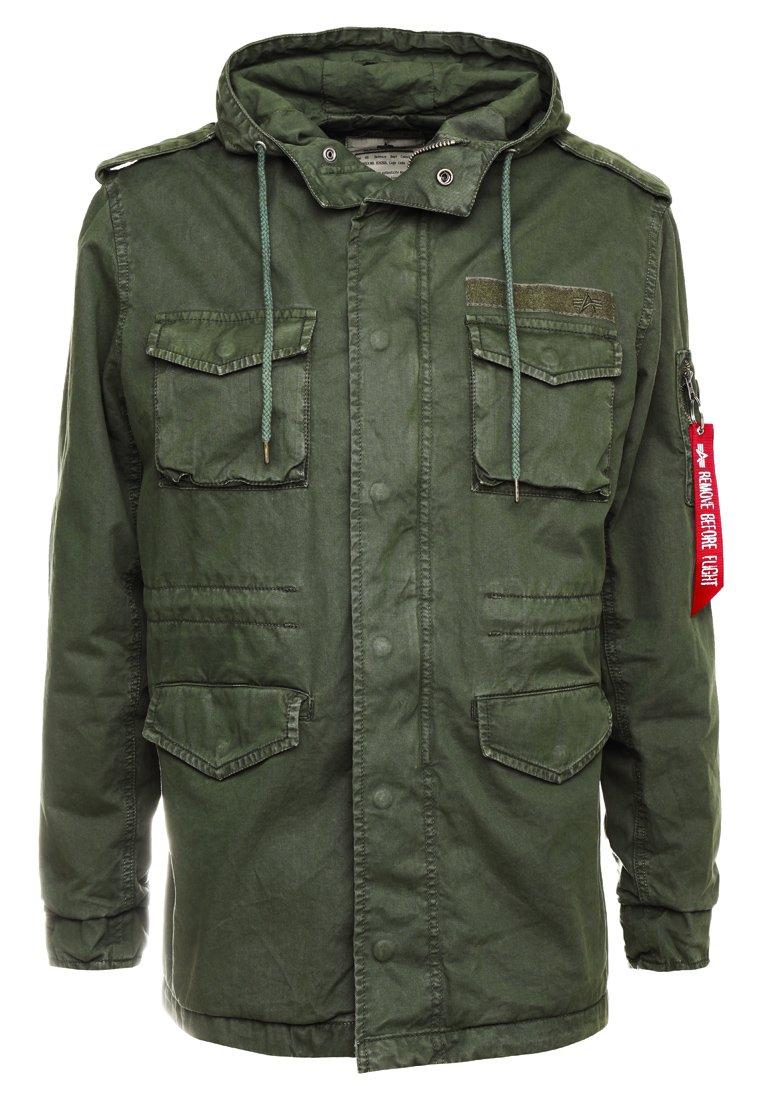 Alpha Industries Lett jakke olive Zalando.no