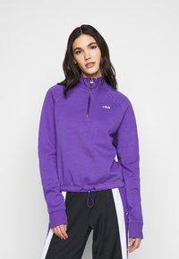 Fila Tall - MARCY HALF ZIP - Collegepaita - ultra violet - 2