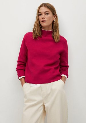 CHIMNEY - Jumper - růžovočervená