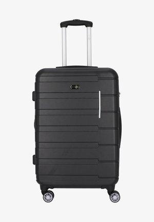 MÜNCHEN 4-ROLLEN TROLLEY 67 CM - Wheeled suitcase - schwarz grau