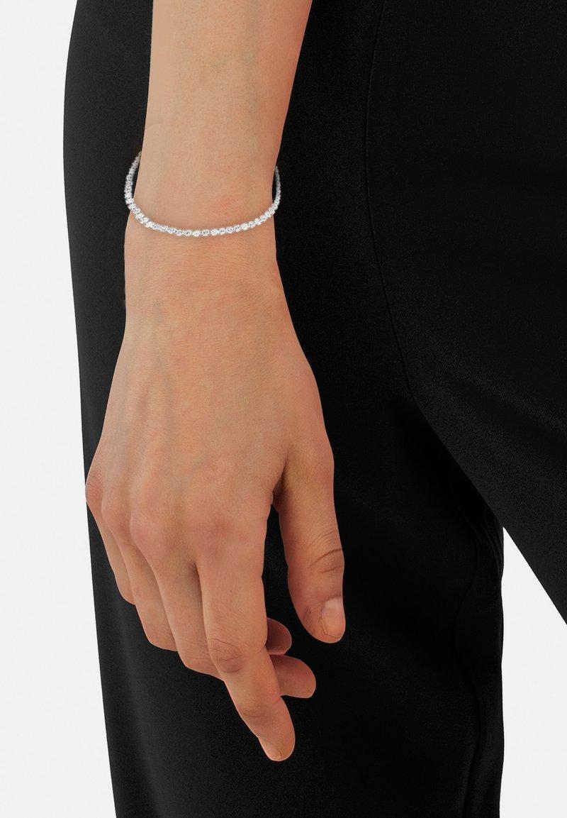 Heideman - MIT SWAROVSKI STEIN WEISS GL - Bracelet - silberfarben poliert