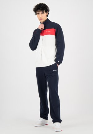 Tracksuit - navy blue and white