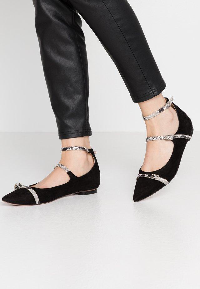 GHIRA  - Ballet pumps - nero/roccia