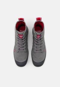 Palladium - PAMPA HI DARE UNISEX - Lace-up ankle boots - titanium - 3